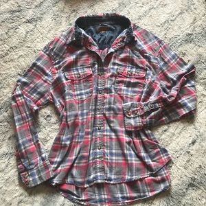 Womens LS flannel size XXL JACHS Girlfriend BEA